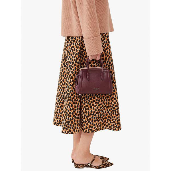 knott mini satchel, grenache, hi-res