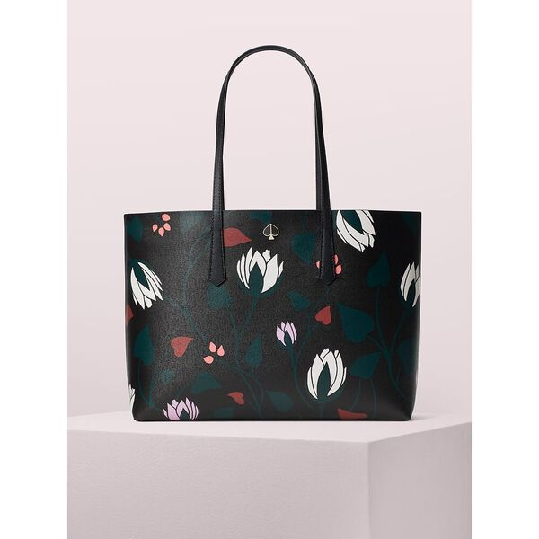 molly deco bloom large tote