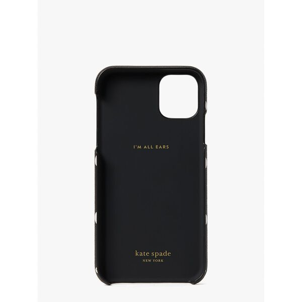 sunshine dot iphone 11 case, black multi, hi-res
