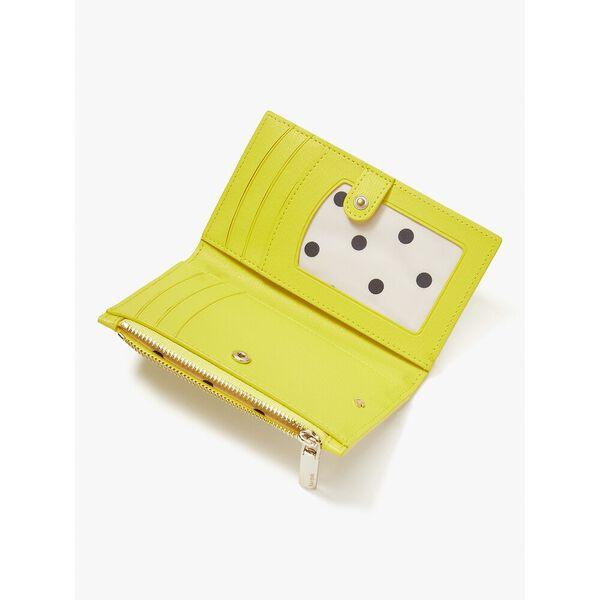 buzz small slim bifold wallet, light bulb multi, hi-res