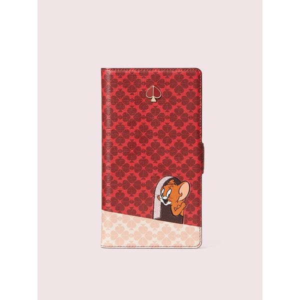 kate spade new york x tom & jerry iphone 11 magnetic wrap folio case