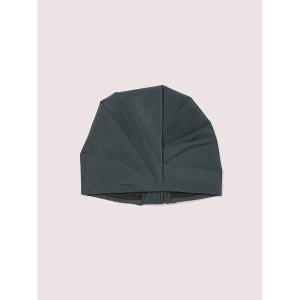 deep spruce satin hat