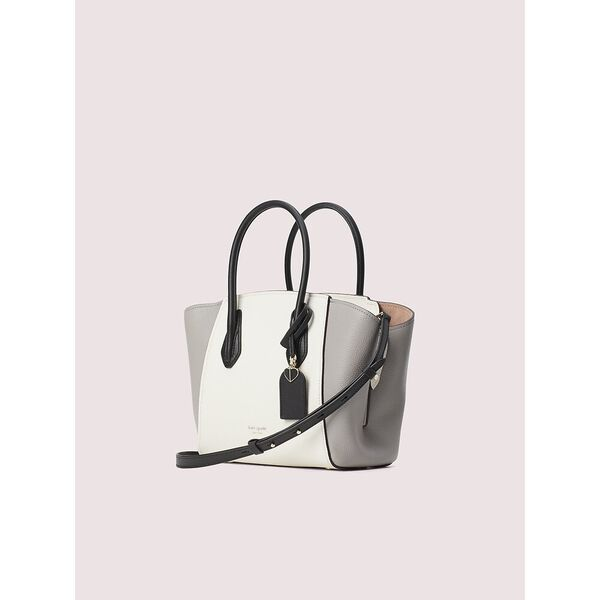 grace medium satchel, parchment multi, hi-res