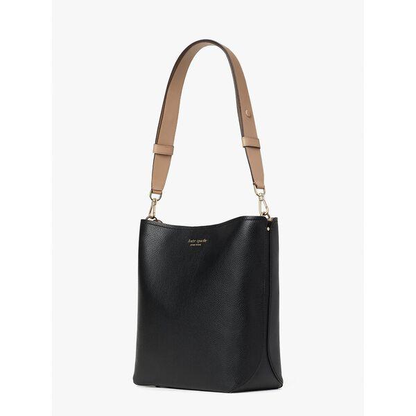 river large bucket bag, black multi, hi-res