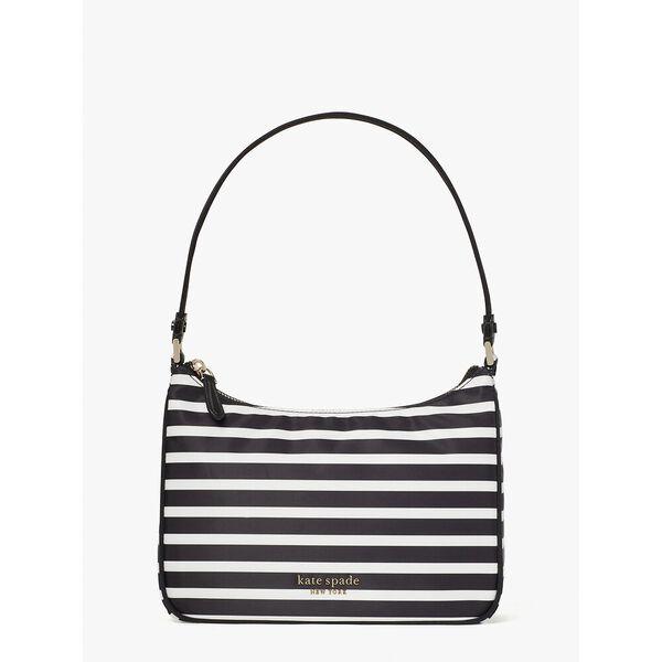 the little better sam stripe small shoulder bag