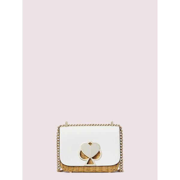 nicola wicker twistlock small convertible chain shoulder bag