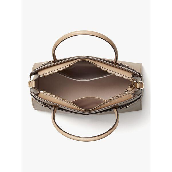 classic large satchel, ivory, hi-res