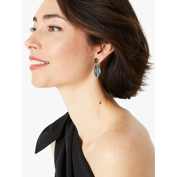 treasure trove drop earrings, blue multi, hi-res