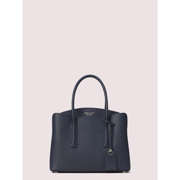 margaux medium satchel, blazer blue, hi-res