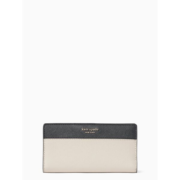 stacy large slim bifold wallet