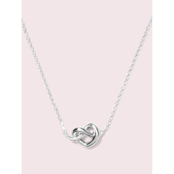 loves me knot mini pendant
