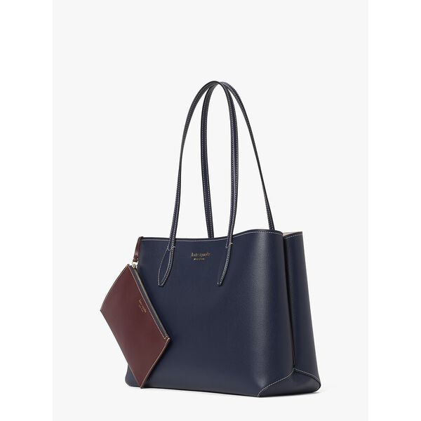 all day large tote, blazer blue, hi-res