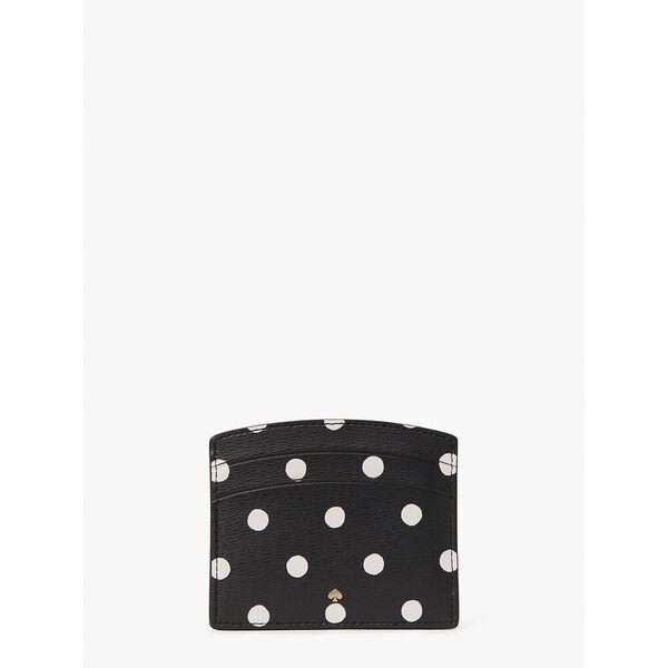 spencer sunshine dot cardholder, black multi, hi-res