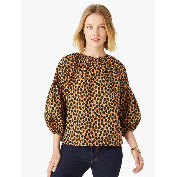 dotty leopard around town top