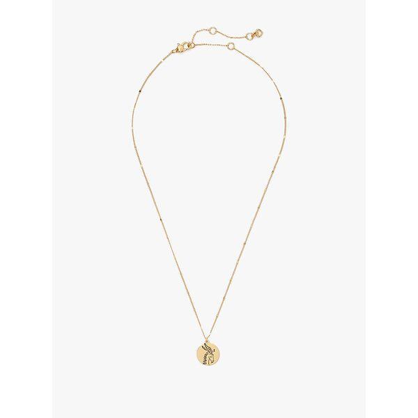 in the stars capricorn pendant, gold, hi-res