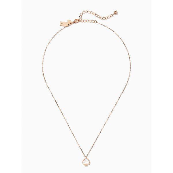 signature spade spade mini pendant, blush multi, hi-res
