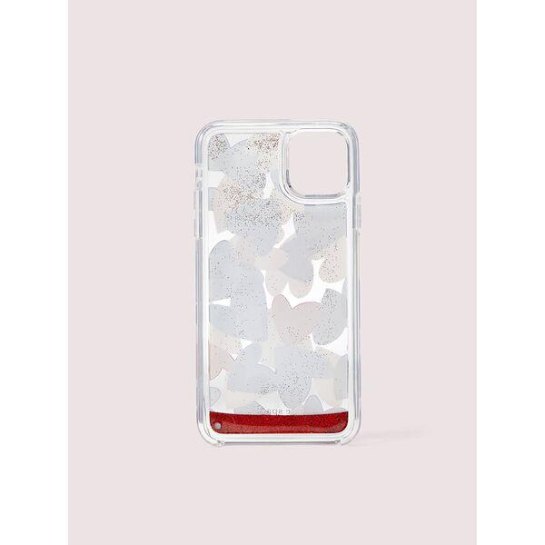 heart party liquid glitter iphone 11 pro case, Multi, hi-res