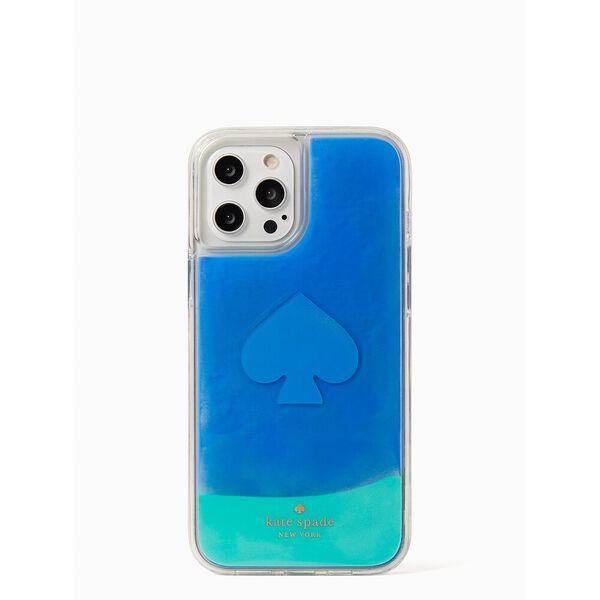 liquid sand iphone 12/12 pro max case, poolside, hi-res