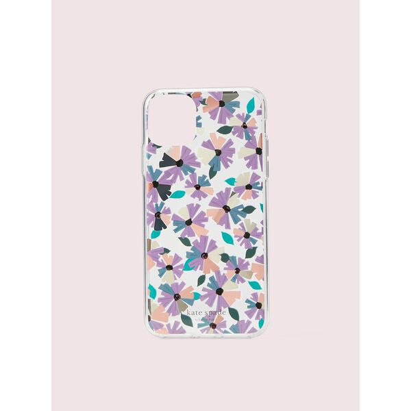 jeweled clear wallflower iphone 11 pro max case