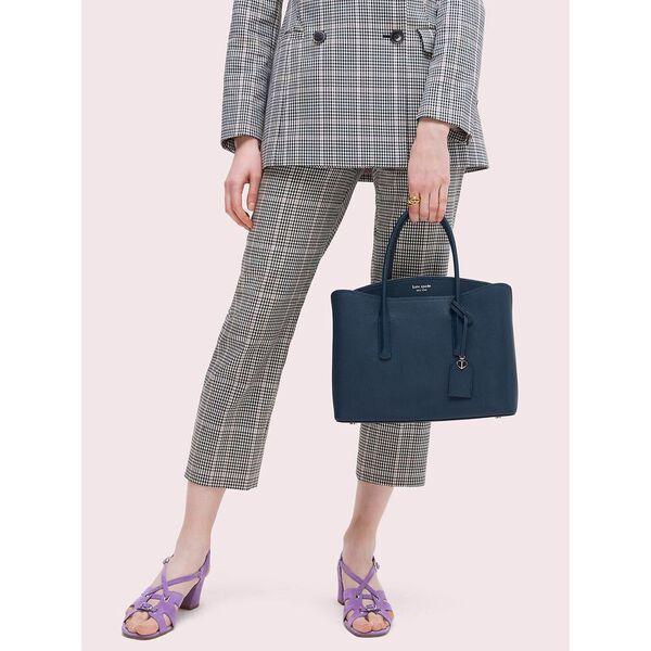 margaux large satchel, blazer blue, hi-res