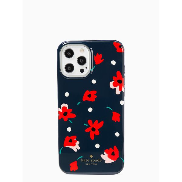 whimsy floral  12 pro max iphone case