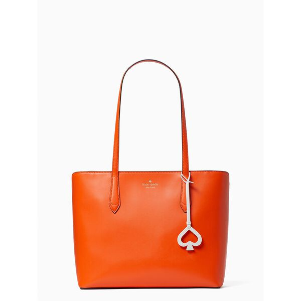 breanna tote, coral buds, hi-res