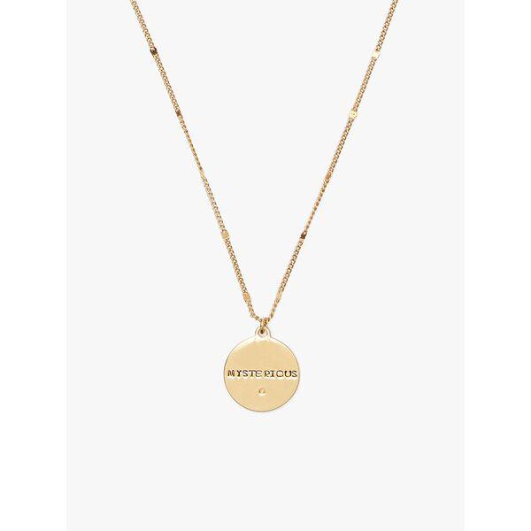 in the stars scorpio pendant, gold, hi-res