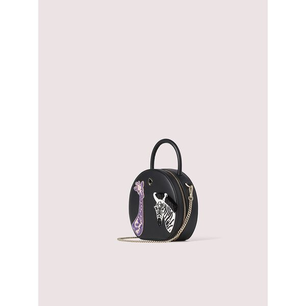 andi safari mini chain canteen bag, black multi, hi-res