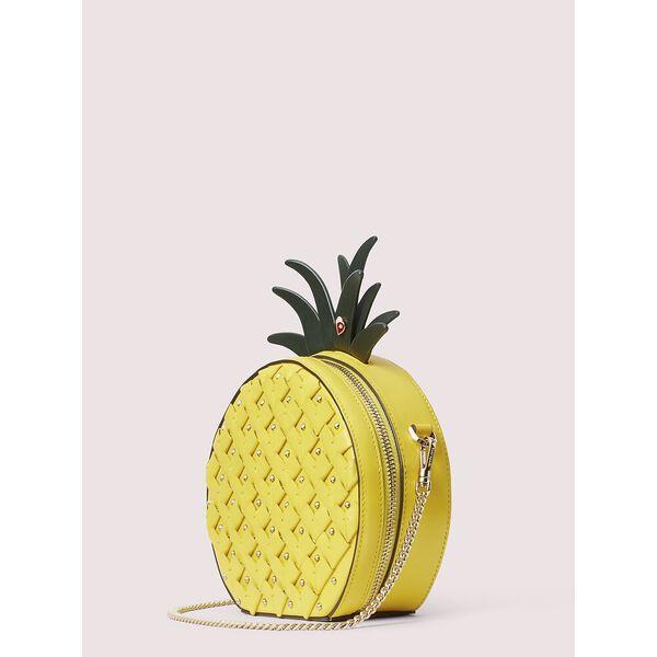picnic pineapple crossbody, LIGHT BULB, hi-res