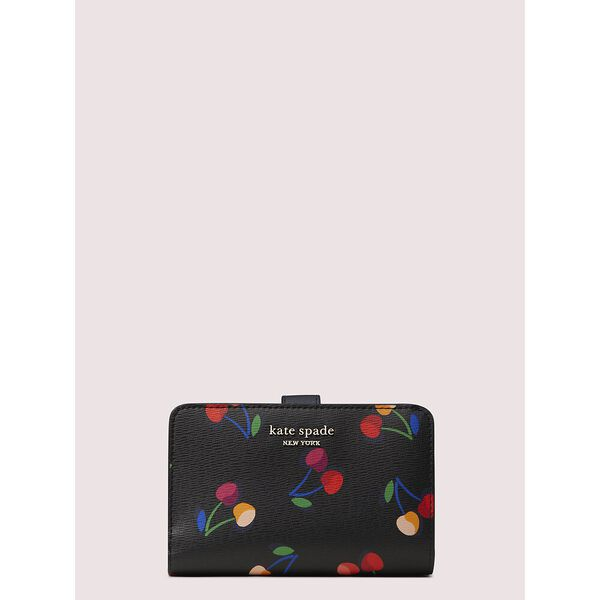 spencer cherries compact wallet, BLACK MULTI, hi-res