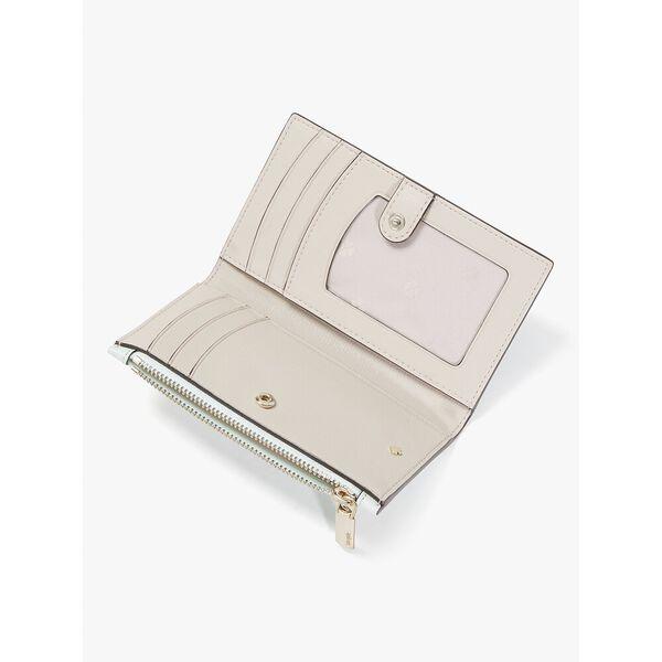 spencer small slim bifold wallet, crystal blue, hi-res