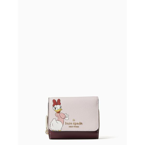 clarabelle & friends trifold wallet