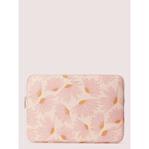 falling flower laptop sleeve