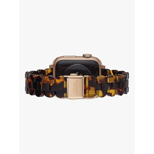 tortoiseshell acetate 38/40mm band for apple watch®, brown, hi-res