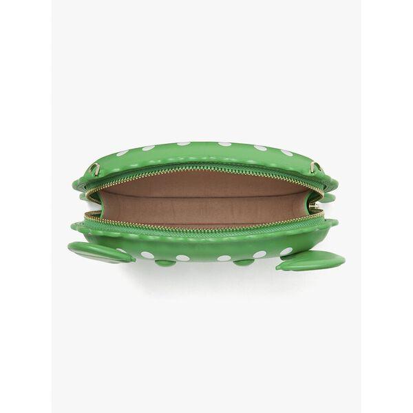 shelly crab crossbody, green jay multi, hi-res