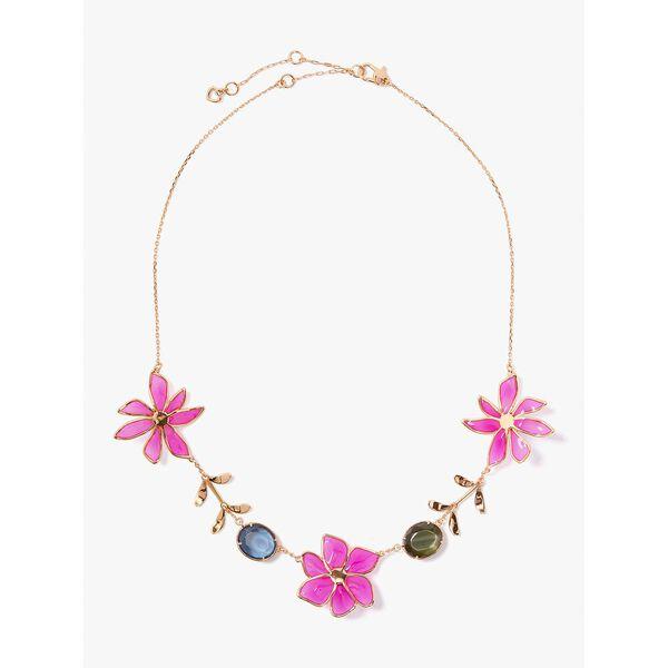 wild garden necklace, pink multi, hi-res