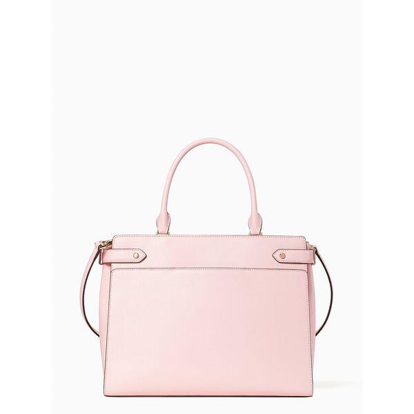 staci large satchel, light crepe, hi-res