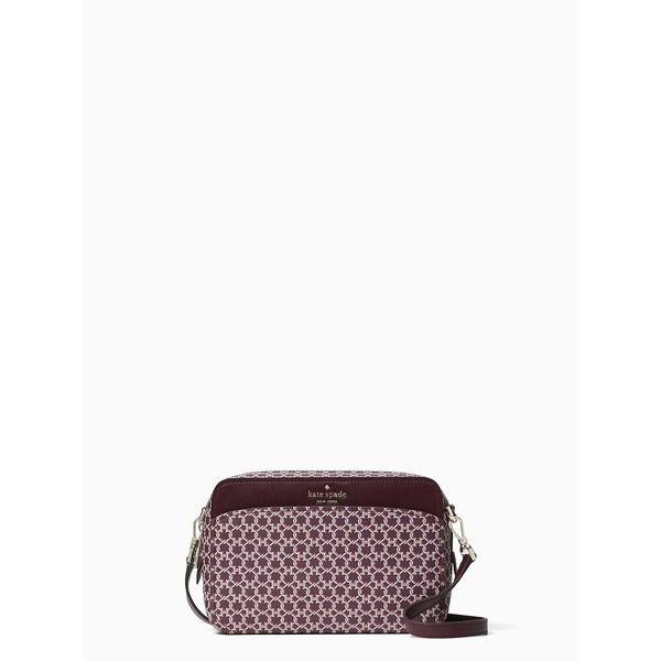 spade link camera bag, pink multi, hi-res
