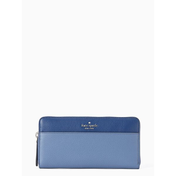 jackson colorblock large continental wallet