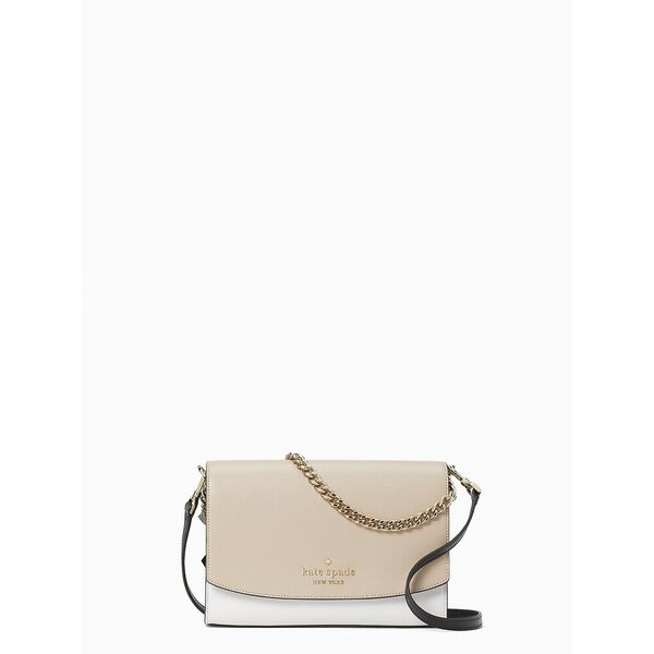 carson colorblock convertible crossbody, warm beige multi, hi-res
