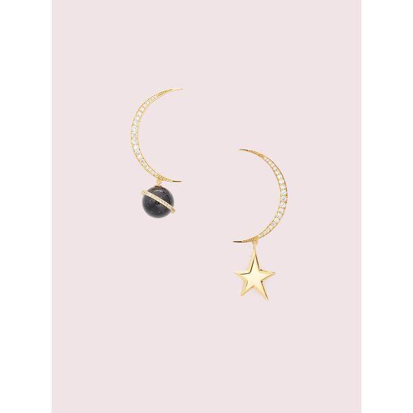 on the rocks asymmetrical earrings