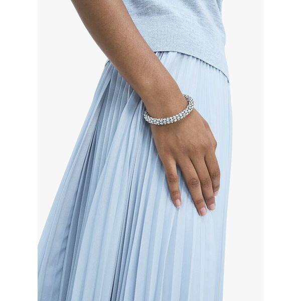 adore-ables pavé flex cuff, CLEAR/SILVER, hi-res