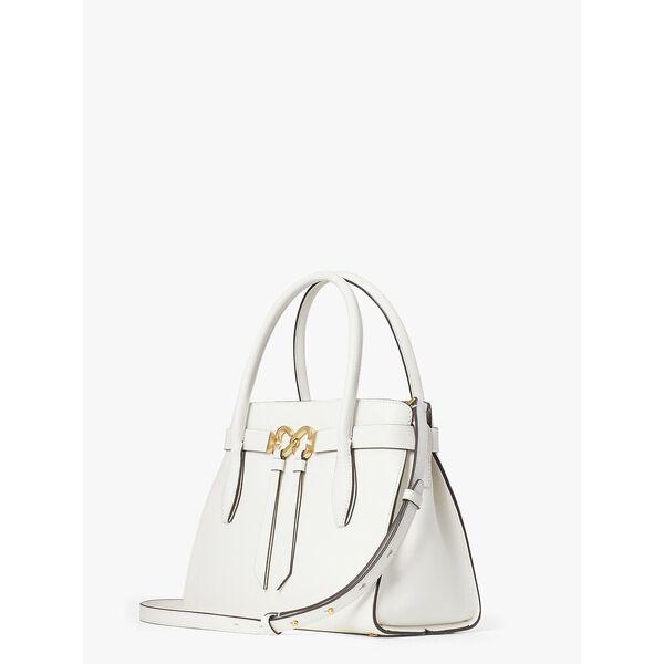 toujours medium satchel, OPTIC WHITE, hi-res