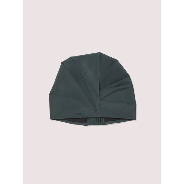 deep spruce satin hat