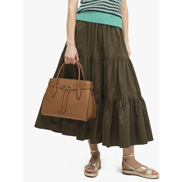 toujours large satchel, WARM GINGERBREAD, hi-res