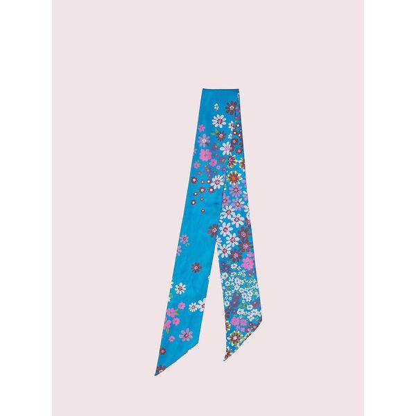bora flora skinny scarf