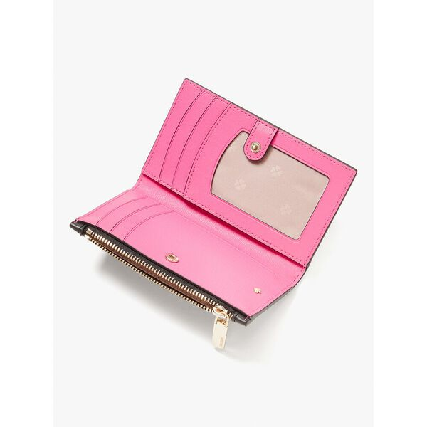 spencer sunshine dot small slim bifold wallet, blackmulti, hi-res