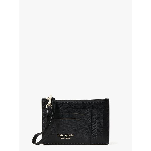 spencer cardholder wristlet, black, hi-res