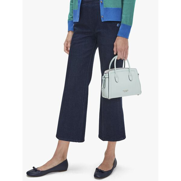 knott mini satchel, crystal blue, hi-res