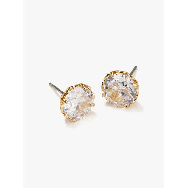 that sparkle round earrings